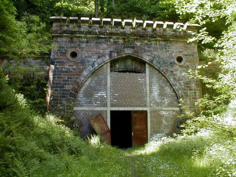 Bischofferoder Tunnel, Ostportal