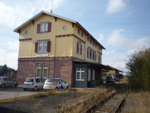 Bahnhof Althengstett